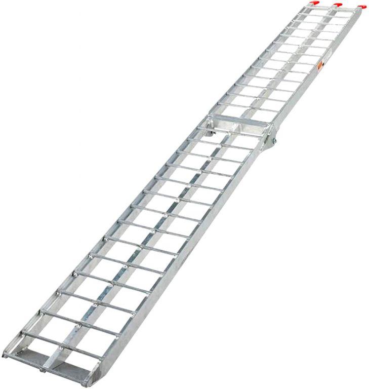 Nájezdová rampa, sklopná - hliník