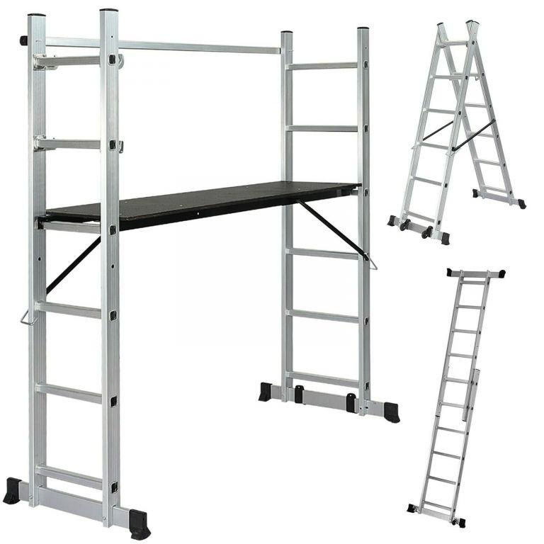 Jago 74210 Multifunkční stavební lešení s pracovní výškou 46-102 cm
