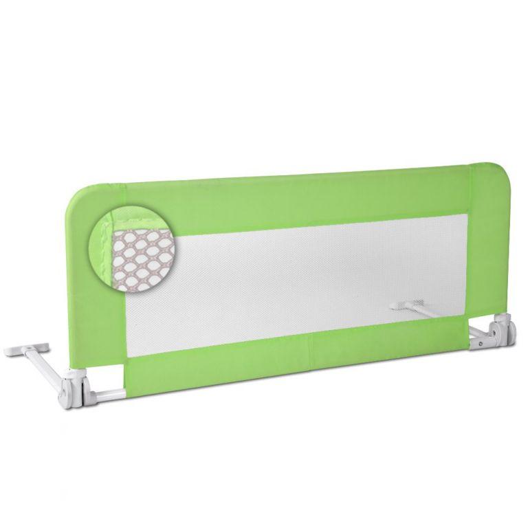 Infantastic 75115 Dětská zábrana na postel, 102 cm, zelená