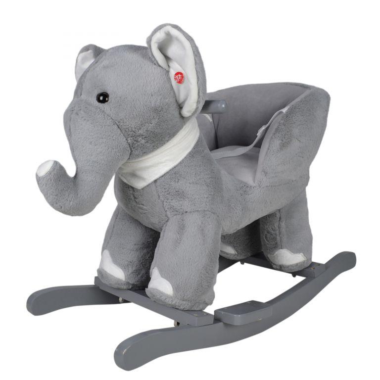 Infantastic Plyšové houpací zvířátko slon, 68 x 33 x 47 cm