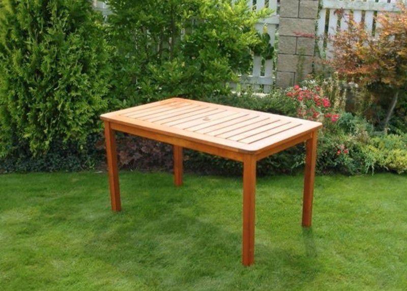 WOOD 2697 Zahradní dřevěný stůl SORRENTO FSC