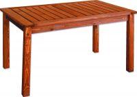 Zahradní dřevěný stůl HOLIDAY mořený FSC