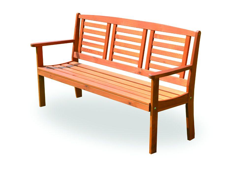 Wood 2709 Dřevěná zahradní lavice EDEN FSC