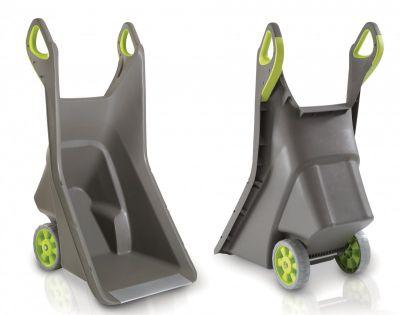 Zahradní plastový vozík REALBARROW - 100L