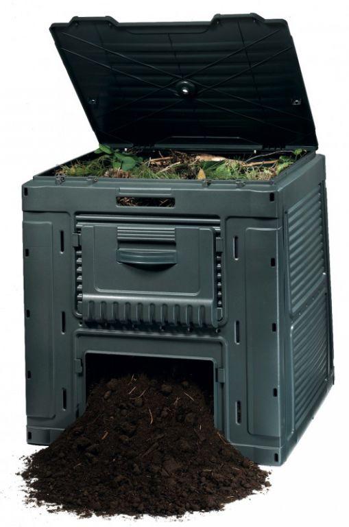 E - kompostér 470L - s podstavcem