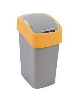 Odpadkový koš FLIPBIN 10l - žlutý CURVER