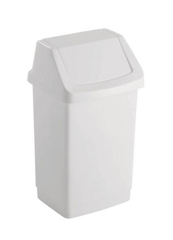 CURVER CLICK 31417 Koš odpadkový 25l - bílý