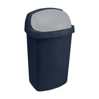 Koš odpadkový ROLL TOP 50l - modrý CURVER