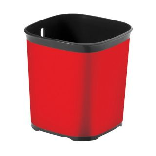 Odkapávač na příbory STYLE - červený CURVER