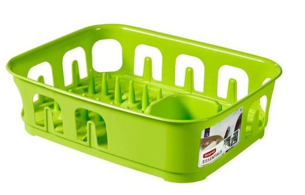 CURVER 31852 Odkapávač nádobí ESSENTIALS čtverec - zelený