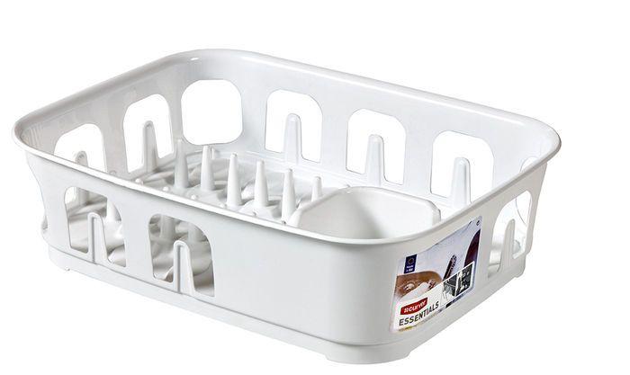CURVER 31853 Odkapávač nádobí ESSENTIALS obdélník - bílý