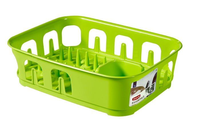 CURVER 31856 Odkapávač nádobí ESSENTIALS obdélník - zelený