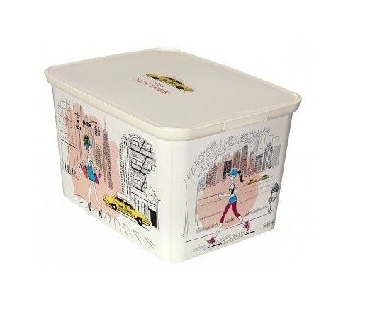 Úložný box DECO - L - Miss New York CURVER
