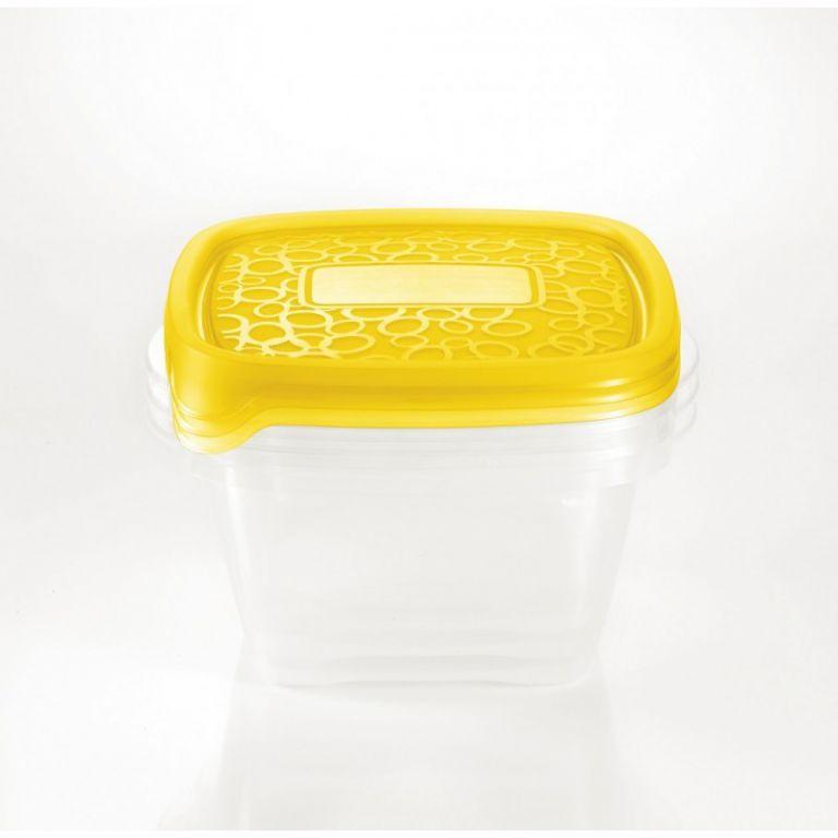 CURVER 32875 Set 3x plastová miska TAKE AWAY1,1L - oranžové