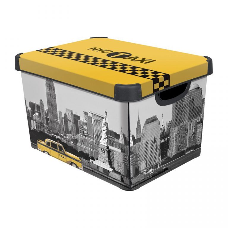 CURVER NEW YORK Úložný box s víkem L