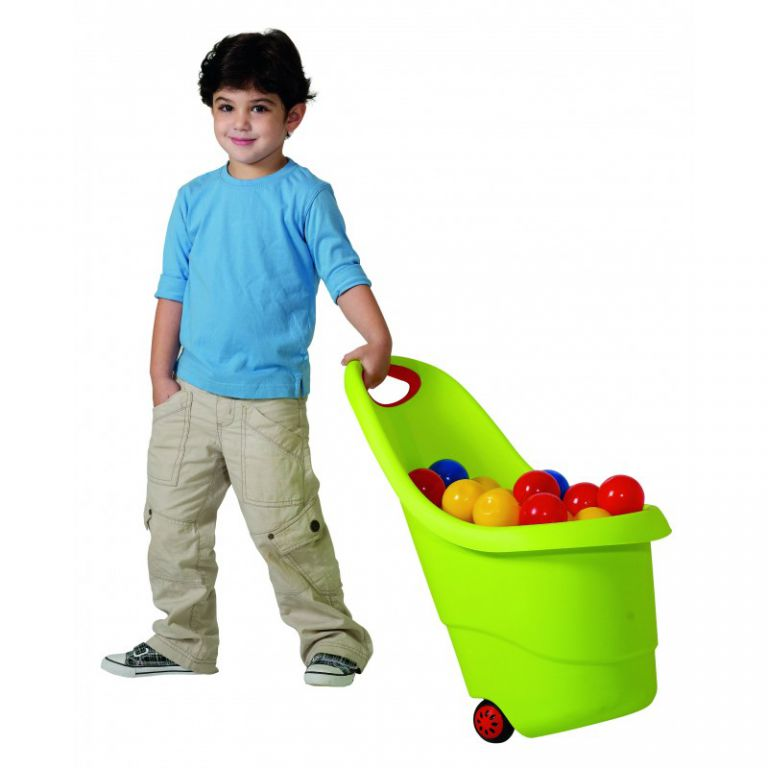 Keter 34803 KIDDIES GO vozíček na hračky - zelený