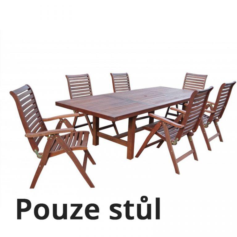 Dřevěný stůl LYON