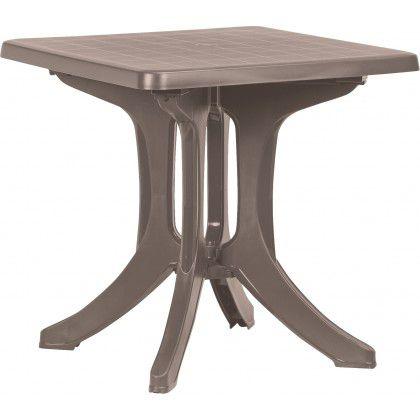 Plastový stůl NAPOLI - cappuccino
