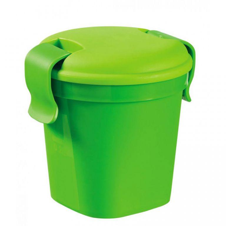 CURVER 36473 Plastový hrnek Lunch & go - S - zelený