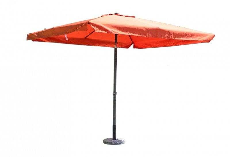 Tradgard 8020 Čtvercový slunečník terakota 270 x 270 cm