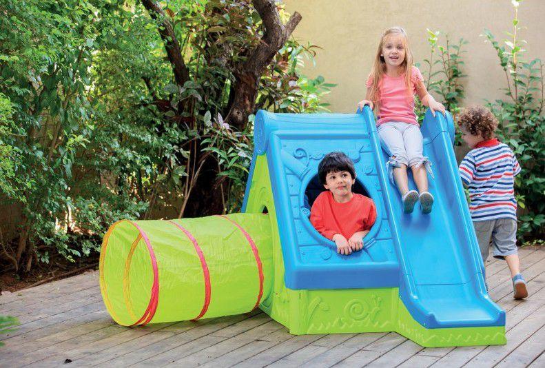 Keter 38842 Dětský hrací dům FUNTIVITY PLAY HOUSE - Zelený