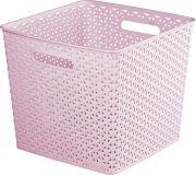 Úložný box MY STYLE SQR box - růžový CURVER