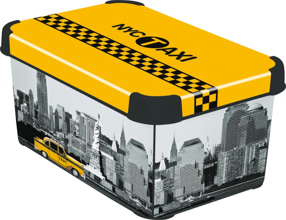 CURVER NY CITY 41110 Box úložný s víkem - S