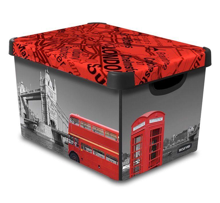 CURVER Londýn Úložný box s víkem - L