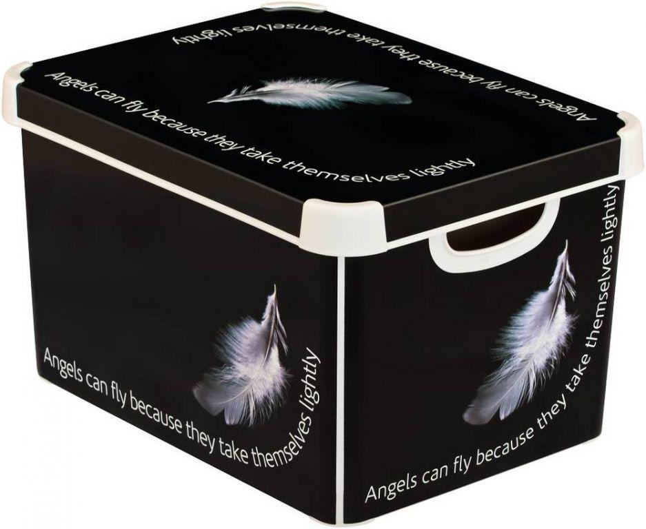 CURVER 41127 BOX s víkem plastový - L - ANGEL