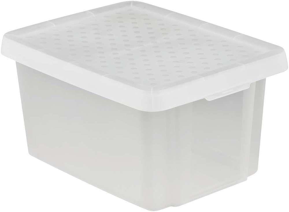CURVER Úložný box s víkem 16L - transparentní