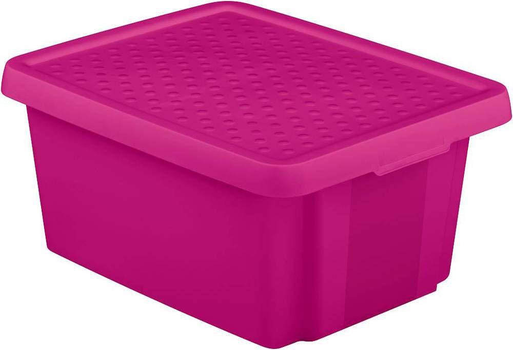 CURVER Úložný box s víkem 20L - fialový