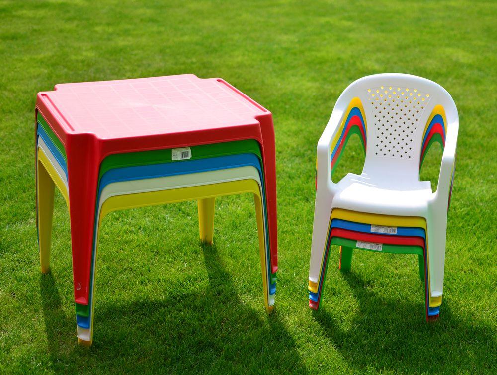 Dětský plastový stůl TONGA - bílá