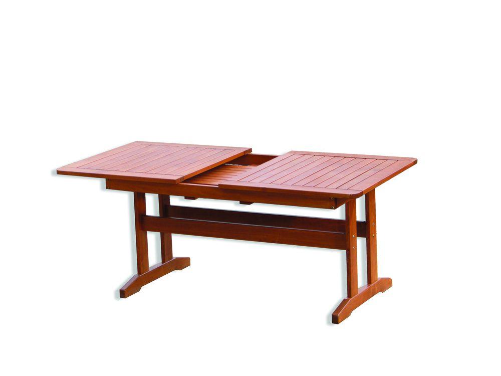 WOOD 41248 Zahradní dřevěný stůl LUISA
