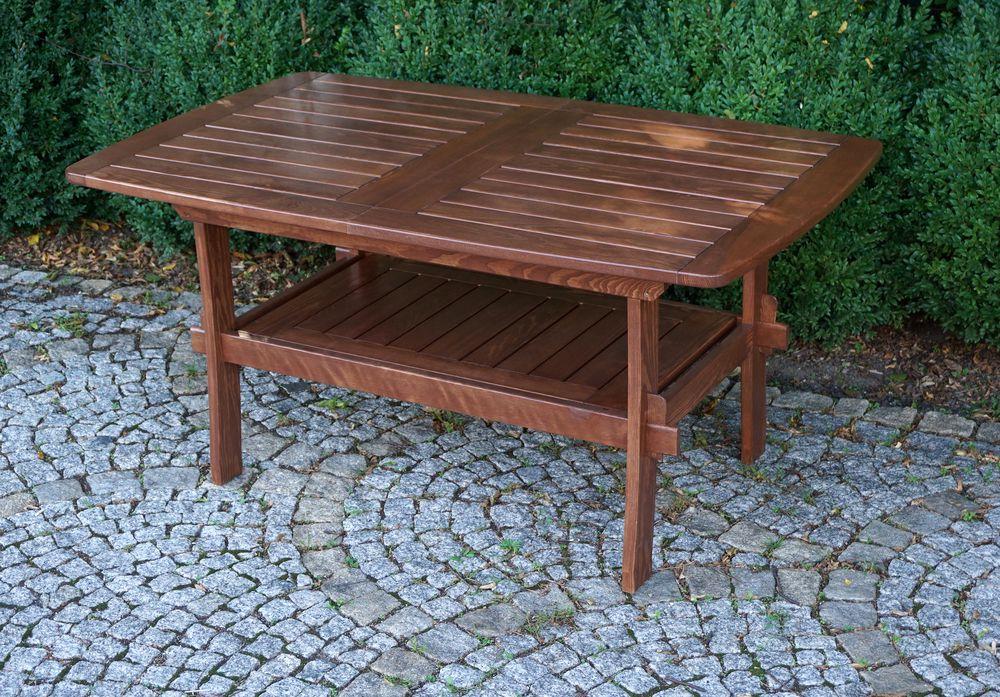 WOOD 41252 Zahradní dřevěný stůl MORENO