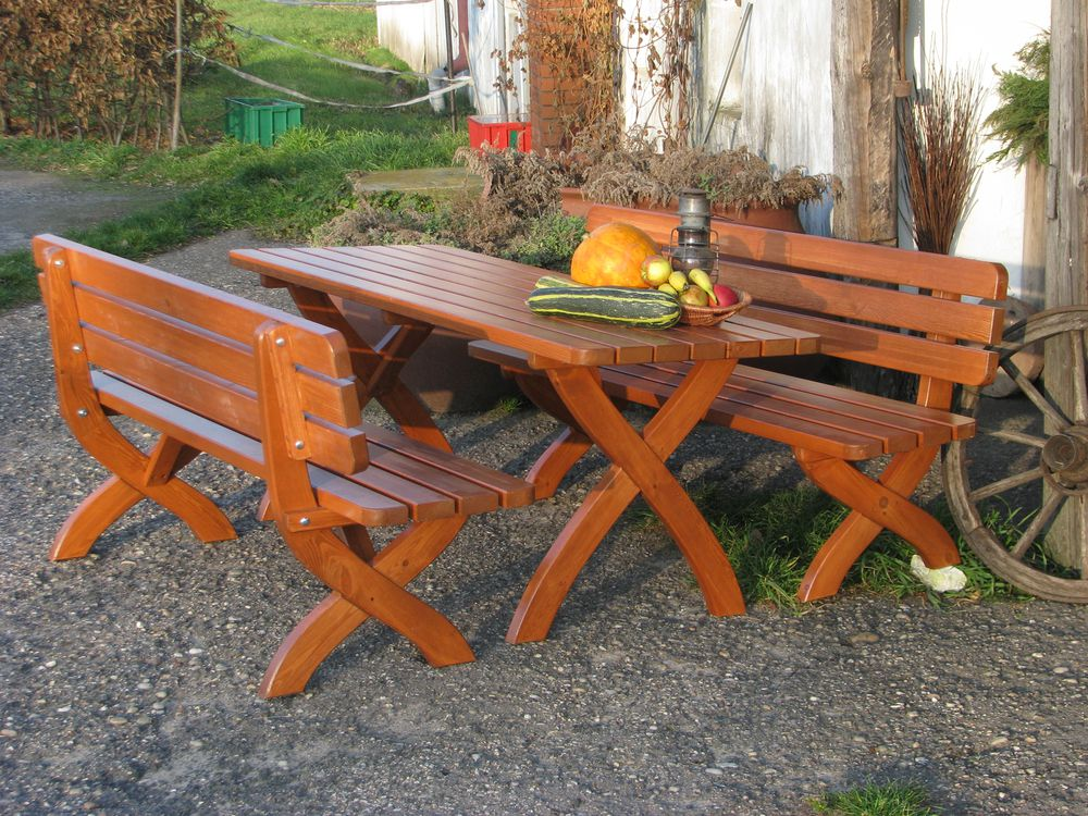 WOOD 41257 Zahradní dřevěná lavice STRONG 160cm