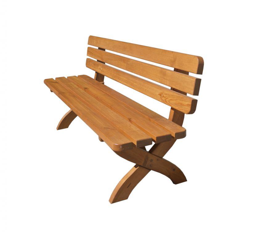 Tradgard STRONG 41257 Zahradní dřevěná lavice 160cm