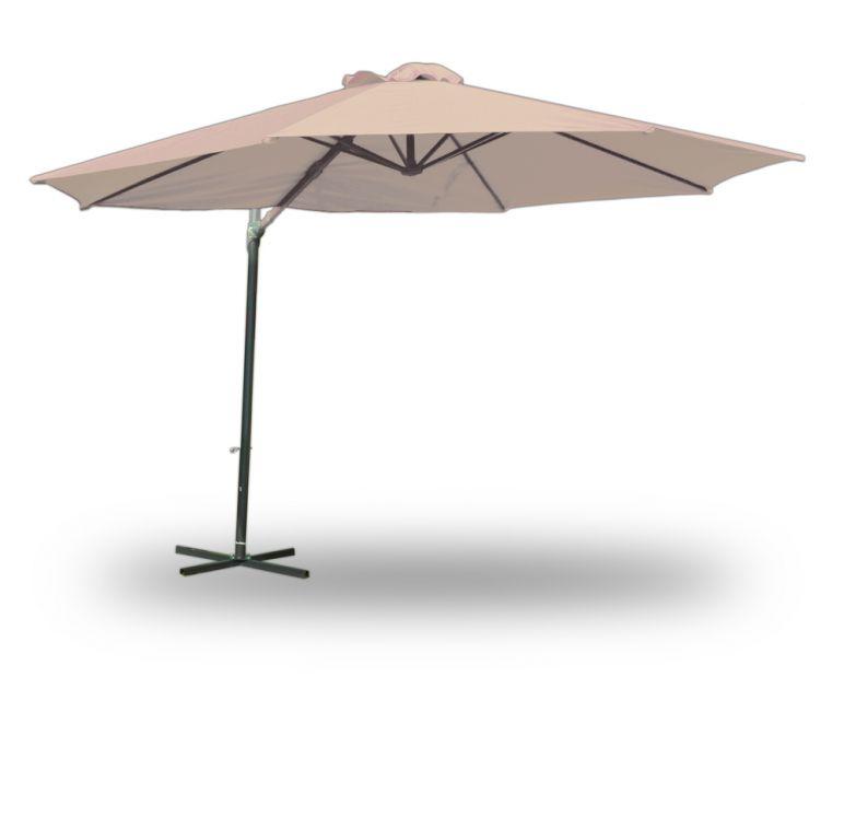 Slunečník 350 cm- béžová