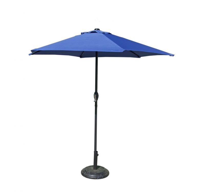 Tradgard 41376 Slunečník 230 cm - sv.modrý
