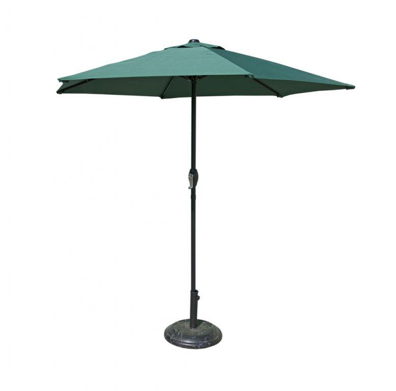 Tradgard 41378 Slunečník 230 cm - tmavě zelený