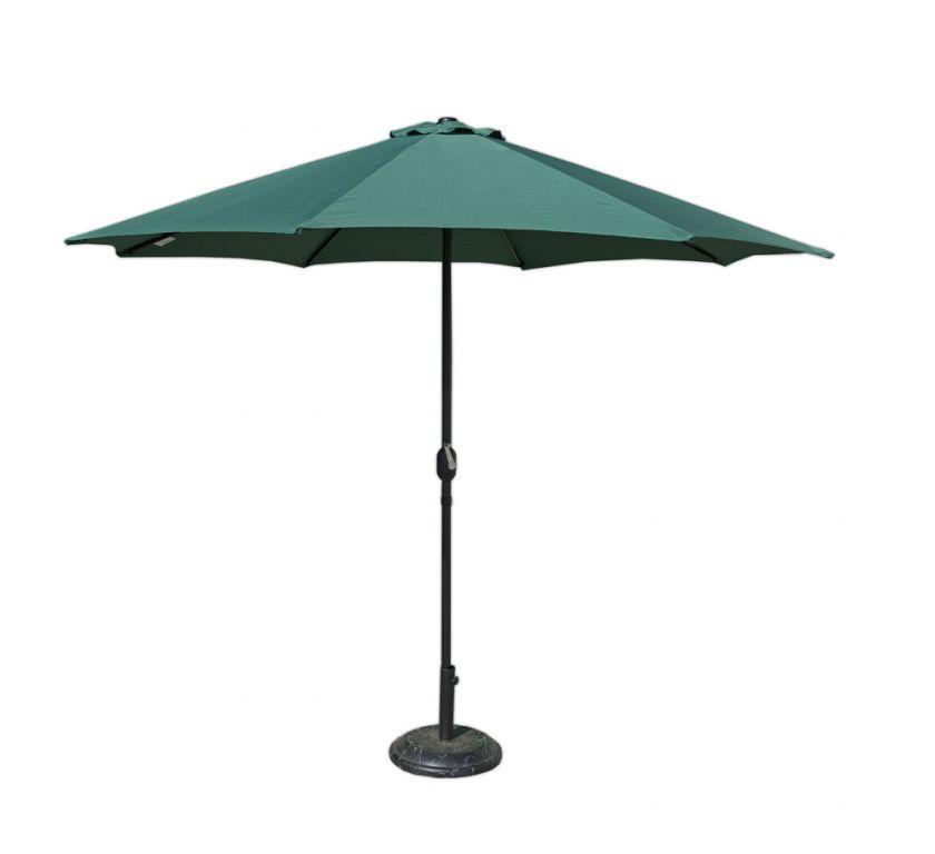 Tradgard 41380 Slunečník 270 cm - zelený