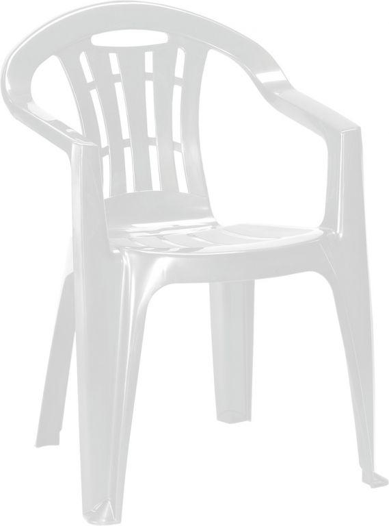 Allibert 41392 Zahradní židle MALLORCA - bílé