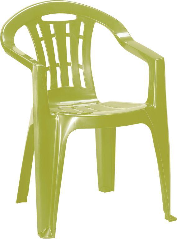 Allibert 41396 Zahradní židle MALLORCA - světle zelené