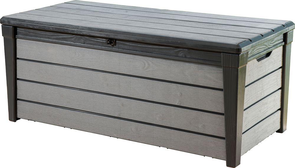 Keter 41459 Zahradní box BRUSHWOOD - antracit + šedý