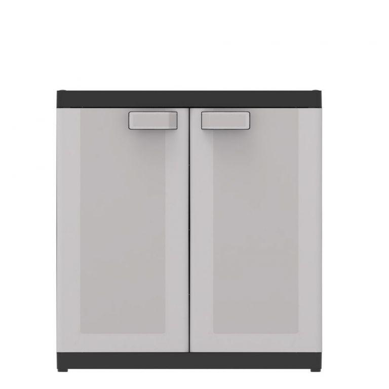KIS LOGICO LOW XL 54612 Plastová skříň - 93 x 89 x 54 cm