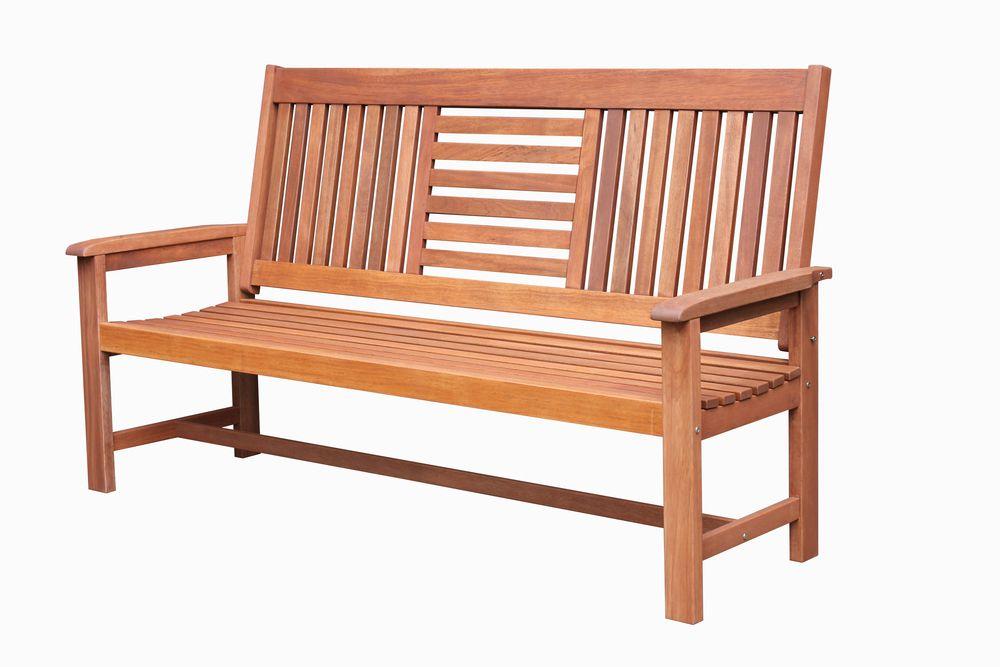 Tradgard SEREMBAN 54635 Zahradní dřevěná lavice - 178 cm