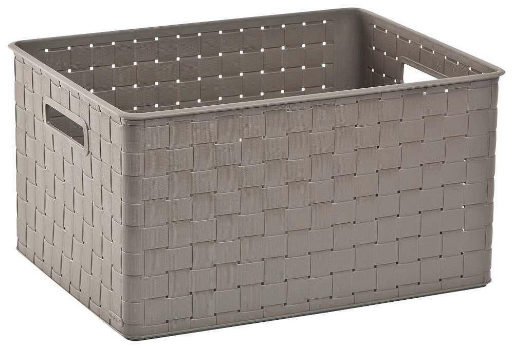 CURVER Úložný box NUANCE - 30 L, hnědý