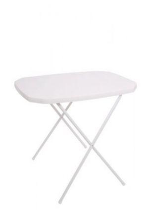 DAJAR 7150 Stůl camping 53 x 70 cm bílý